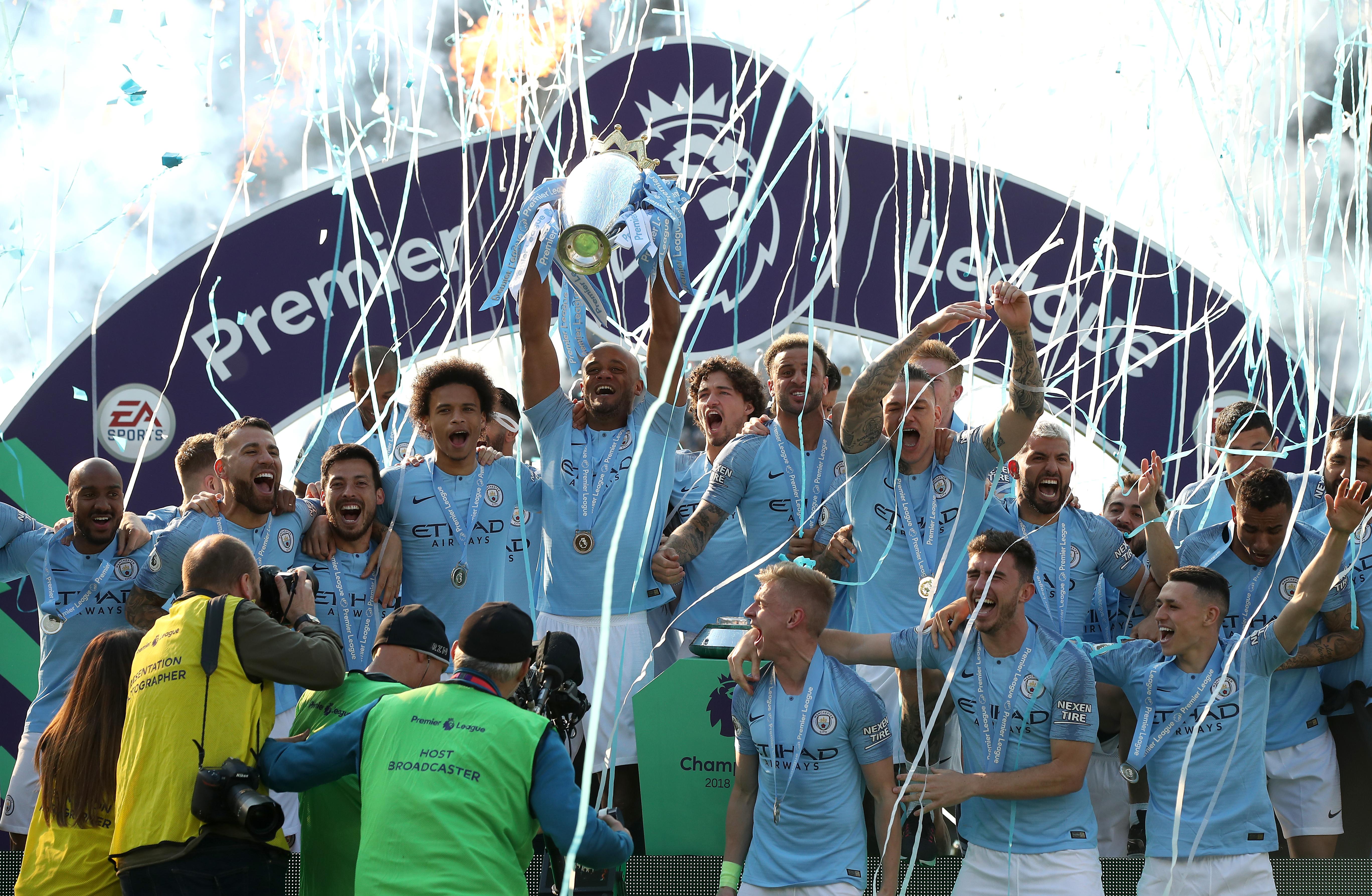 2018/19 sezonu Premier Lig şampiyonu Manchester City