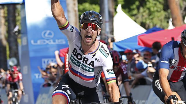 Peter Sagan wins opening stage of Tour of California