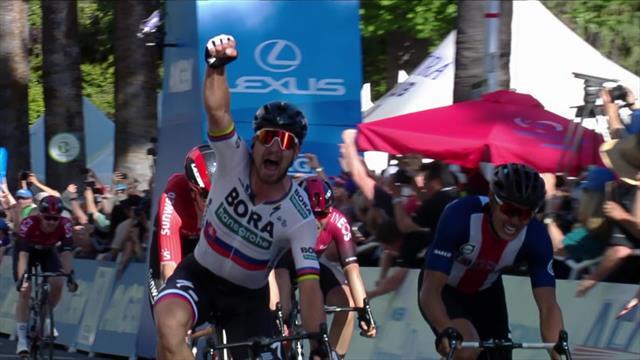 Peter Sagan torna a vincere dopo quattro mesi: sua la prima tappa del Giro della California