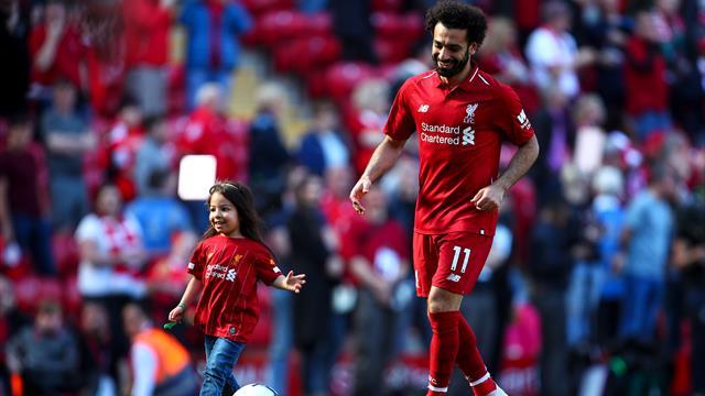 Même dans la défaite, Anfield reste fantastique et la fille de Salah a pu l'expérimenter