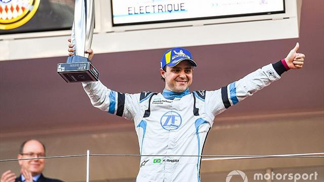 Massa ran out of energy 150m from Monaco finish
