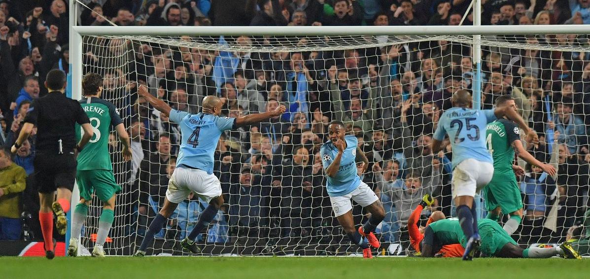 Raheem Sterling, Manchester City vs Liverpool, Şampiyonlar Ligi çeyrek finali