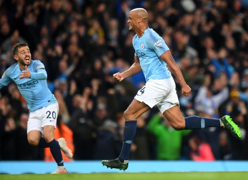 Vincent Company, Manchester City vs Leicester City