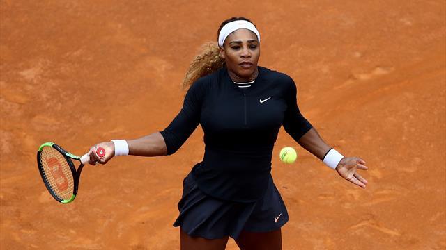 Pour son retour, Serena s'impose tranquillement et attend sa soeur