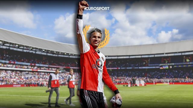 Ван Перси закончил с футболом. Он променял «Арсенал» на «МЮ» и прервал гегемонию Испании