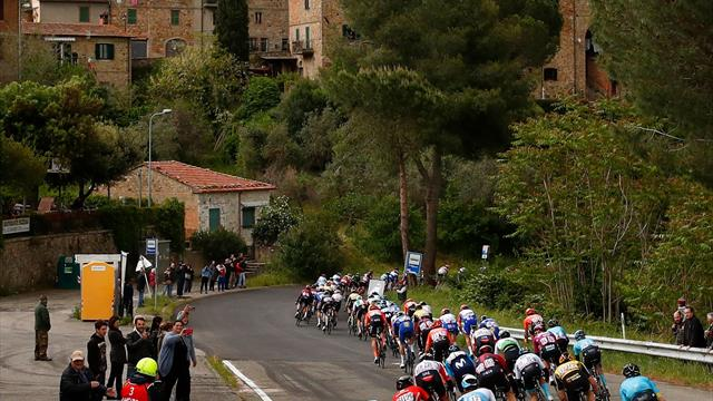 Giro d'Italia   Laatste twee kilometer etappe drie
