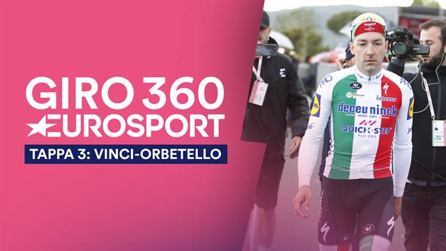 """""""Giro 360"""": Viviani sì, ma un ti credere... Tutto il meglio e il dietro le quinte della terza tappa"""