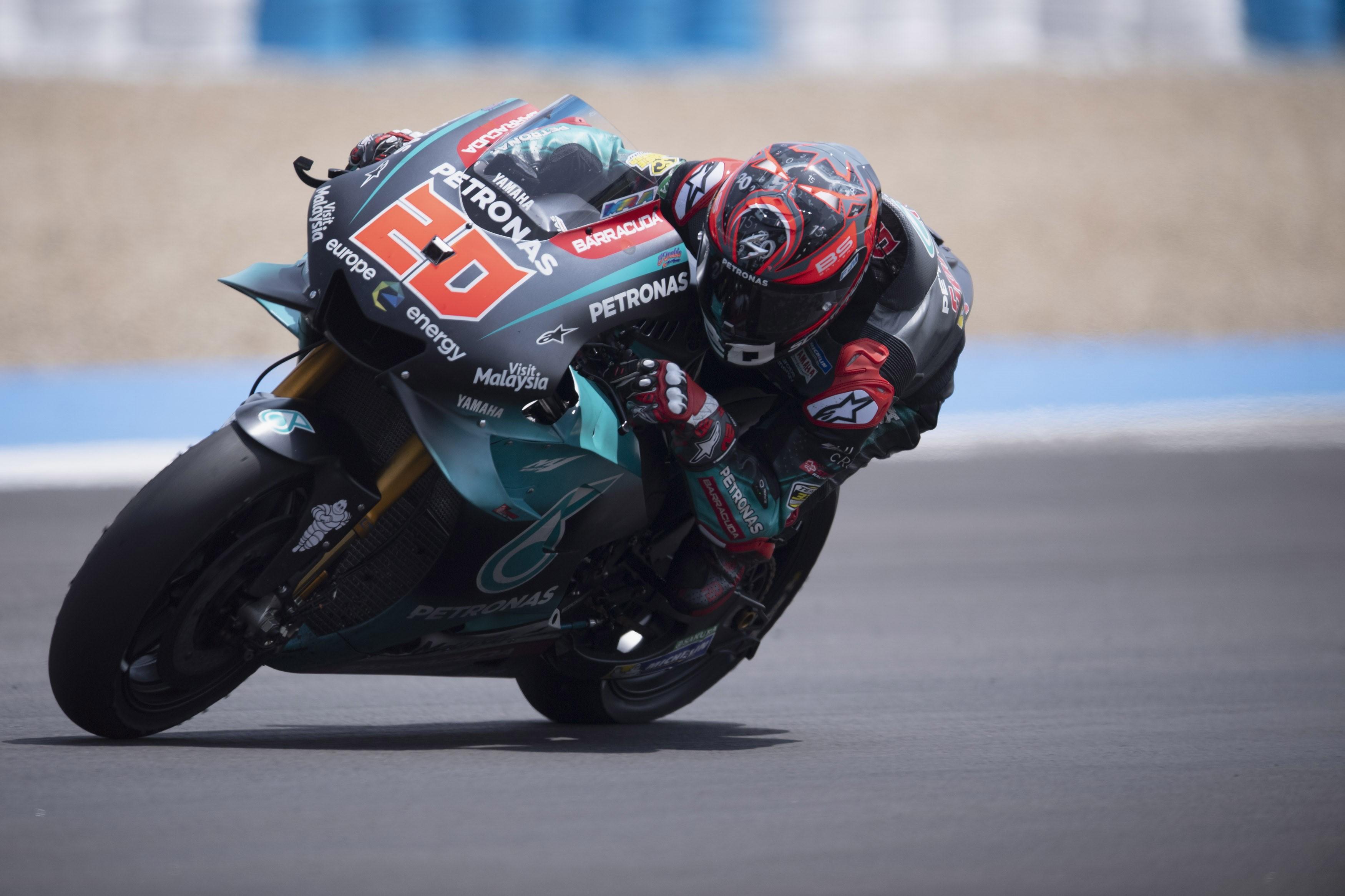 Fabio Quartararo (Yamaha Petronas SRT) au Grand Prix d'Espagne 2019