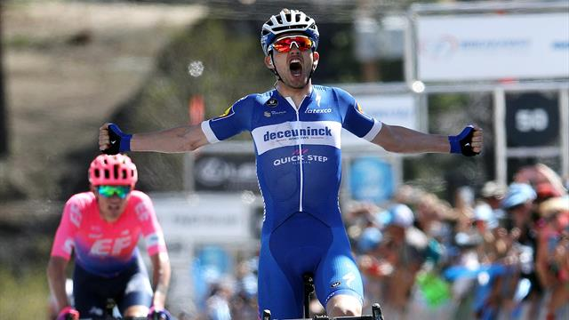 Asgreen fires up in final moments to seize stage two victory in California