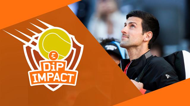 Attention, Djokovic s'installe dans le 16e ! On en a parlé dans DiP Impact