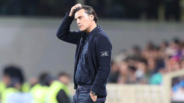 Giudice Serie A due turni a Montella salta lo spareggio salvezza col Genoa