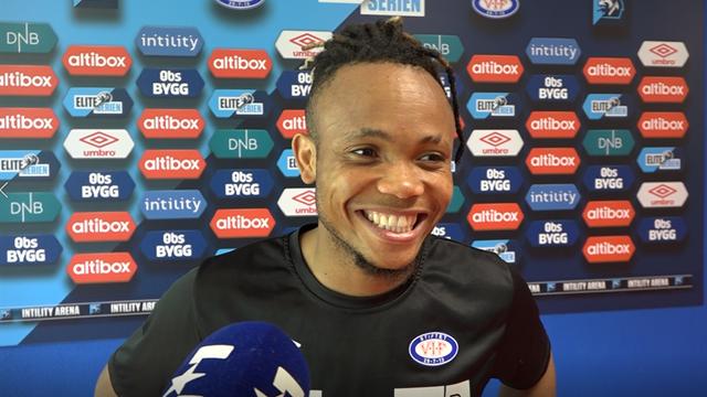 Hevder Ejuke presenteres som Heerenveen-spiller i dag