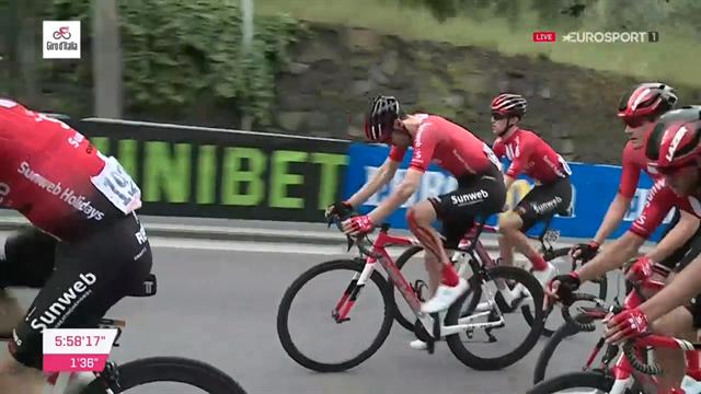 Giro d'Italia | Laatste 6KM met val Tom Dumoulin