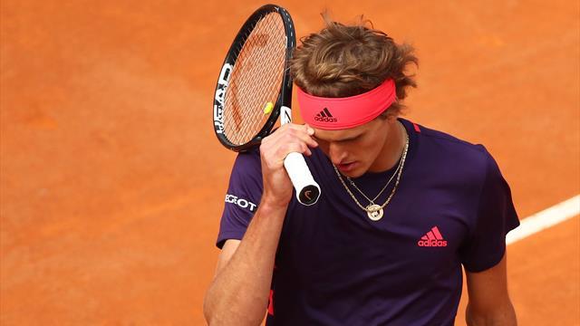 """""""Amer et déçu"""", Zverev veut se focaliser à nouveau sur le tennis"""