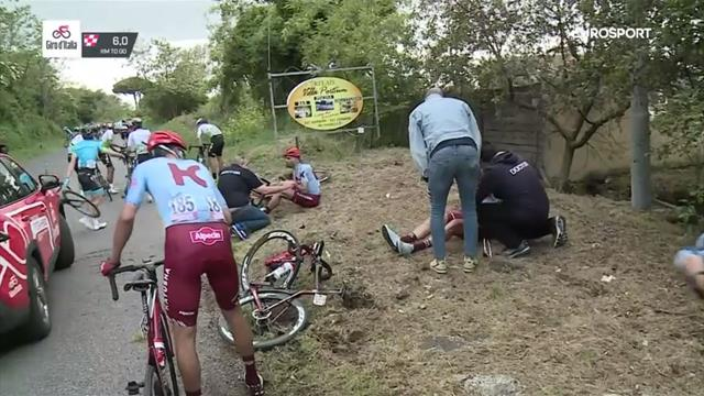 'Riders all over the place!' - huge crash dents GC stars' hopes