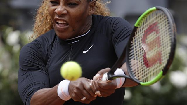 Williams withdraws from Italian Open due to knee pain