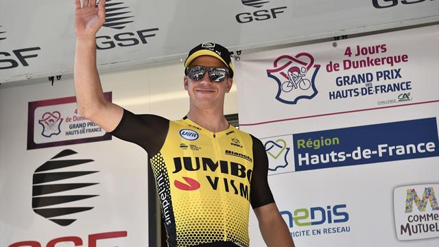 Dylan Groenewegen wint de eerste etappe van de Vierdaagse van Duinkerke