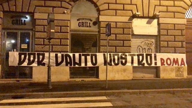Addio De Rossi, Roma tappezzata di striscioni contro società e Pallotta