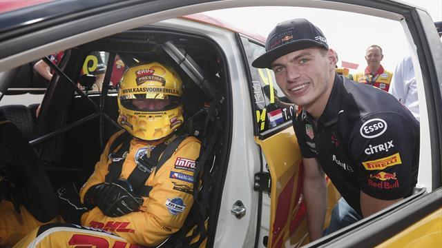 WTCR racer Coronel challenges Verstappen