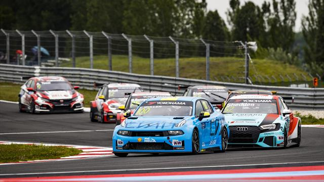 Muller en «mode sauvage» pour Cyan Racing Lynk & Co en WTCR