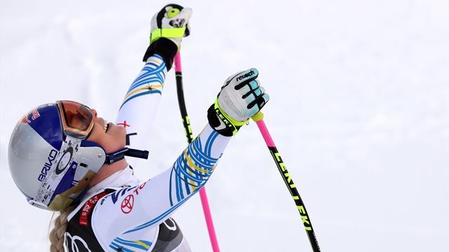 Vonn, emocionada por recibir el Premio Princesa de Asturias de los Deportes en su cumpleaños