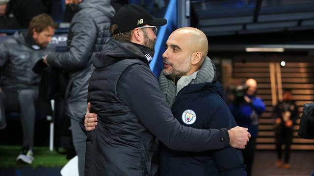 Klopp and Guardiola's touchline quarrel is the headline act at Wembley