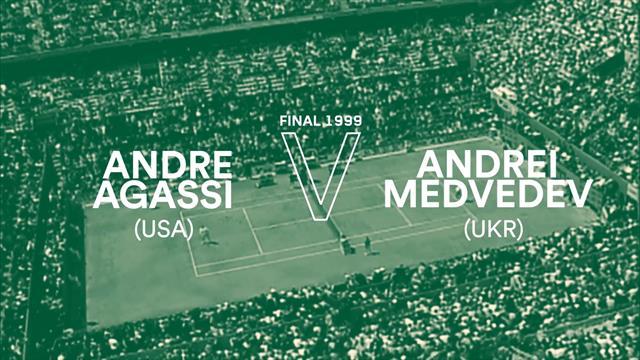 Roland-Garros: Remontada antológica de Agassi para completar todos los Grand Slams