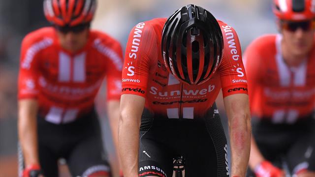 👎‼️ Tom Dumoulin abandona el Giro debido a las secuelas de su caída, síguelo en Eurosport Player