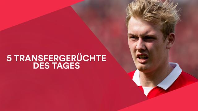 Drei Top-Vereine pokern um Brandt
