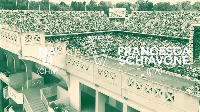 I match più belli della storia del Roland Garros: 2011, Li Na vs Francesca Schiavone