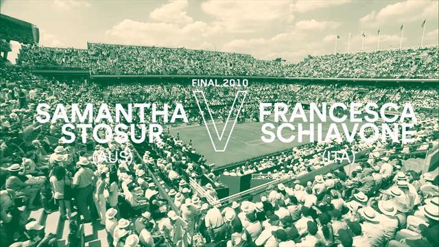 I match più belli della storia del Roland Garros: 2010, Francesca Schiavone vs Samantha Stosur