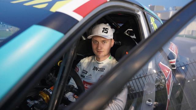 La star du rallycross Nitišs retrouve l'ERC en Abarth Rally Cup