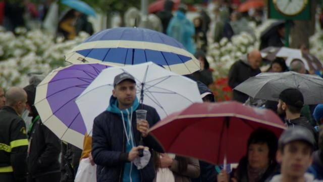Rome - La pluie perturbe la journée