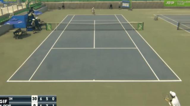 Теннисист с Тайваня придумал еще одну обманку с подачей. Она эффективнее, чем ввод с руки