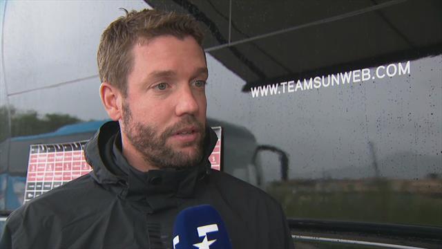 De reactie van Team Sunweb ploegleider Elijzen over het afstappen van Dumoulin