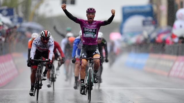 Акерманн затащил пятый этап «Джиро», Роглич сохранил розовую майку