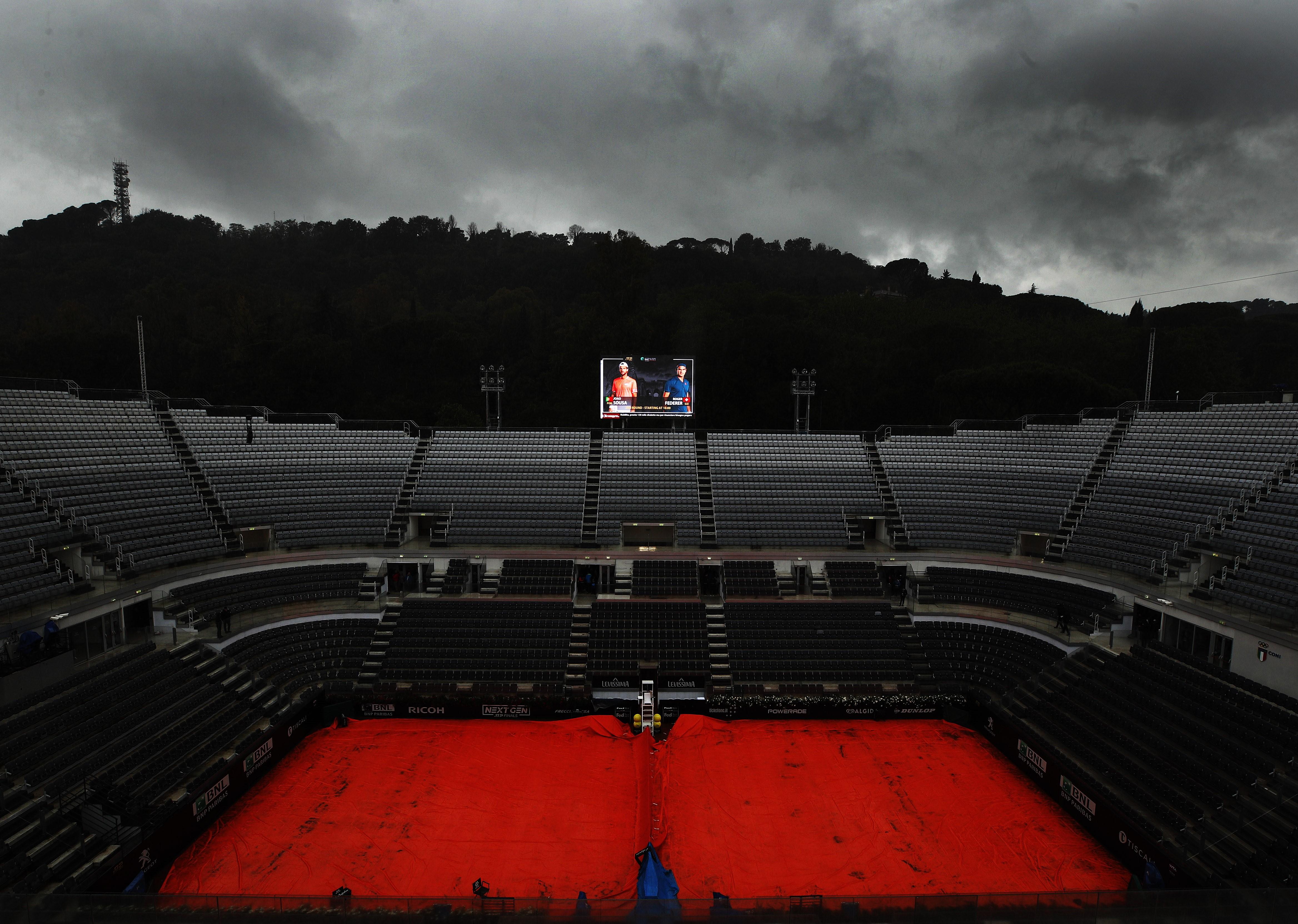 Roger Federer à Rome