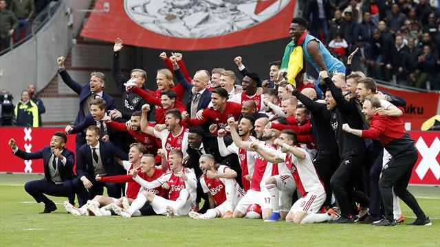 A défaut de la C1, l'Ajax se console avec un 34e titre de champion