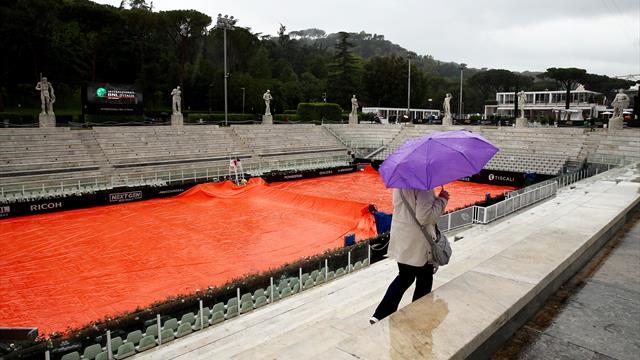 La journée annulée à cause de la météo, tous les matches reportés