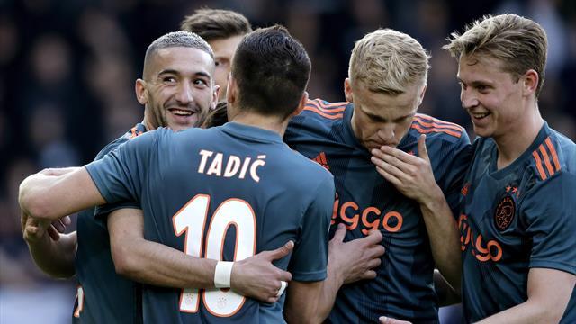 «Аякс» в 34-й раз выиграл чемпионат Голландии