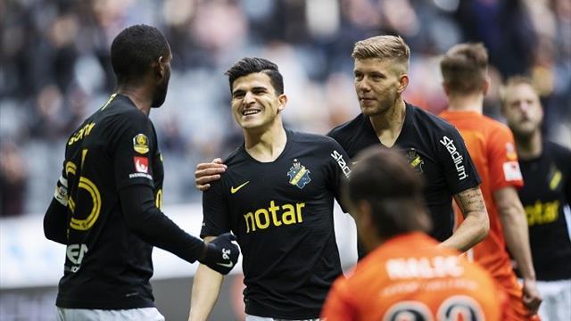 Tarik ordnet viktig seier for AIK