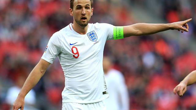 Kane set to be named in England squad for Nations League finals