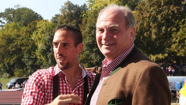 Real lockte 2009 mit Mega-Ablöse: Wie Hoeneß Ribéry überzeugte