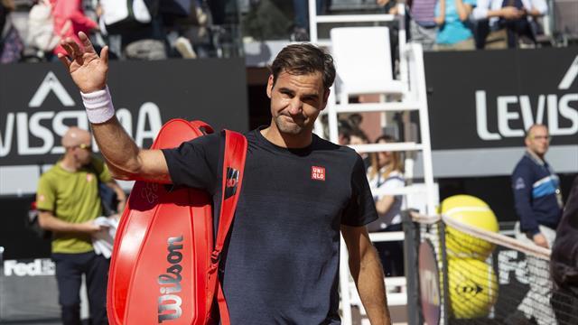 Smentita Federer: solo il Roland Garros sulla terra, a Roma probabilmente non ci sarà