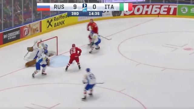 Шайба Овечкина, шайба Кузнецова, шайба Кучерова и еще 7 шайб в воротах несчастной Италии – все тут