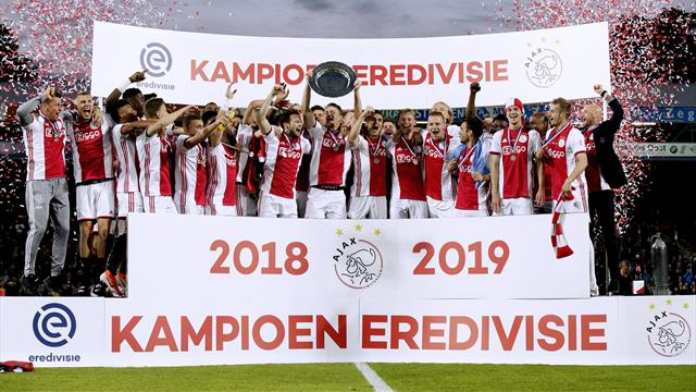 Ajax win Eredivisie title to secure domestic double