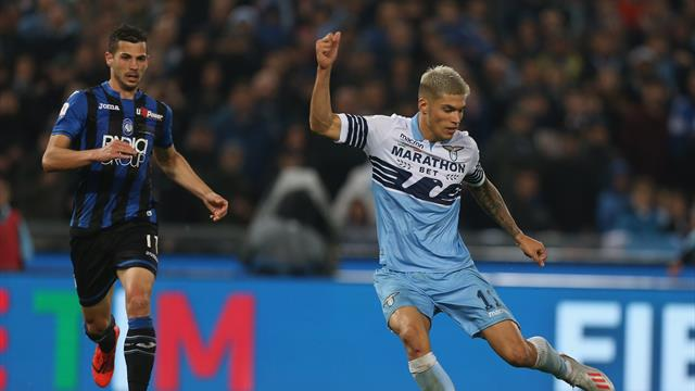 Lazio strike late to beat Atalanta in Coppa Italia final