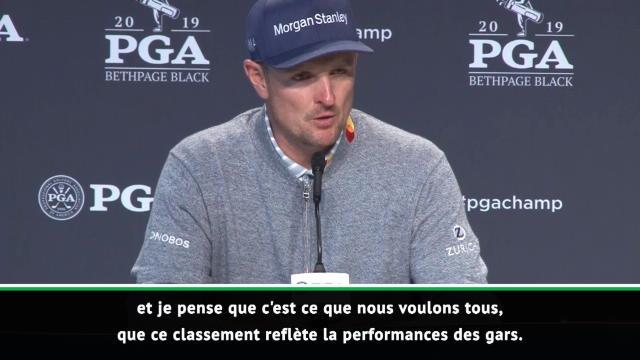 """PGA Championship - Rose : """"Le classement mondial est juste"""""""