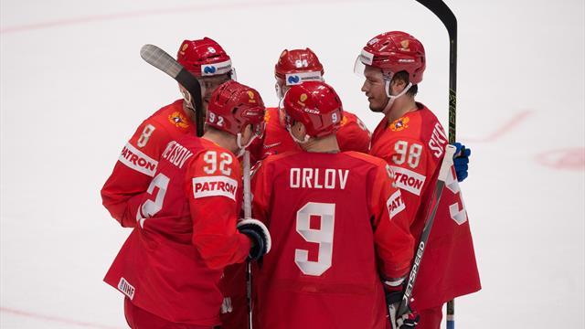 Eishockey-WM: Russland und die Schweiz siegen weiter