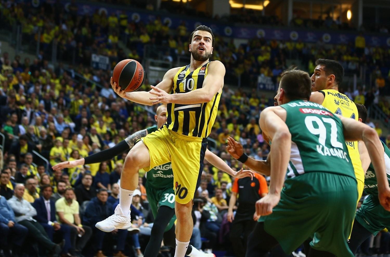 Melih Mahmutoglu (Fenerbahçe Beko) vs Zalgiris Kaunas